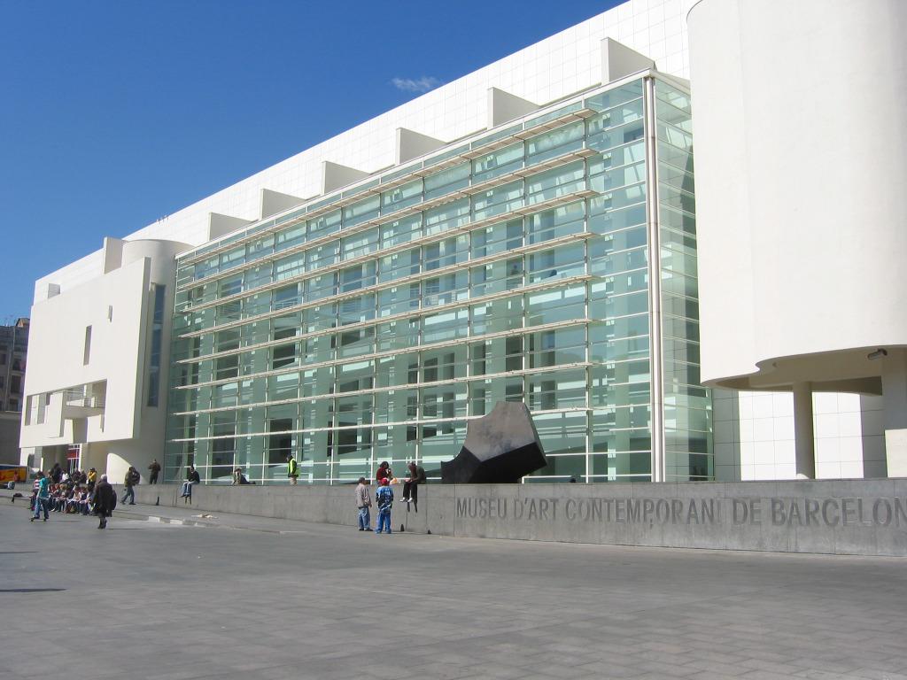 Museo d arte contemporanea di richard meier barcellona for Richard meier architetto